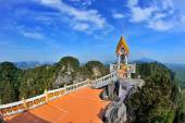 Temple on a top of mountain  — Stock Photo