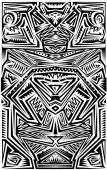 Tribal Tatoo — Stock Vector