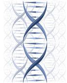 DNA vector background — Stock Vector