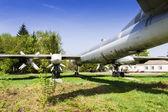 Strategic bomber Tu-95 Bear — Stock Photo