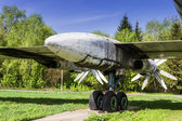 Strategic bomber Tu-95 Bear — Stock Photo
