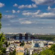 View of the Podil and Troeshchina — Stock Photo #70052037