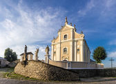 Trinity catholic church, Kamenetz-Podolsk — Stockfoto