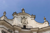 Mariinsky catholic church — 图库照片
