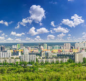 Residential quarters of the modern city — Foto Stock