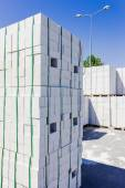 Silicate brick — Stock Photo