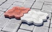 Pavement tiles — Stock Photo