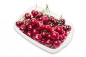 Dark red cherries — Stock Photo
