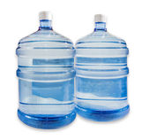 Two carboys with drinking water — Stock Photo