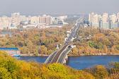 Autumn cityscape — Stock Photo