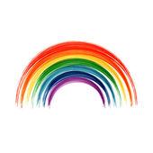 Art rainbow abstract vector — Stock Vector