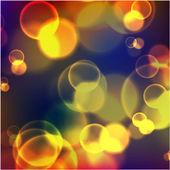 Festive background  lights — Stock Vector