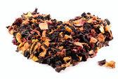 Fruit and berry tea — Stock Photo