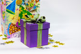 Colorful Birthday Present — Stock Photo