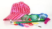 Shinny party supplies — Stock Photo
