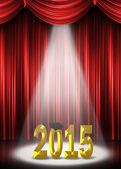 Graduation 2015 in the spotlight — Stock Photo