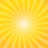 Yellow color burst background — Vecteur