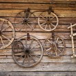 Old wooden house wall — Stock Photo #68672251