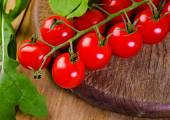 Red tomatoes cherry — Stock Photo