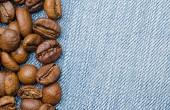 Black coffee beans — Stock Photo