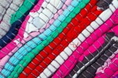 Fondo de rayas multicolor brillante — Foto de Stock