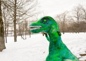 Monster made of snow — Stock Photo