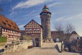 Nuremberg Castle. — Stock Photo