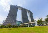 Marina Bay Sands Luxury hotel at Singapore — Stock Photo