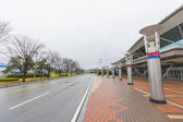 Dorasan Railway Station in DMZ, South Korea. — Stock Photo