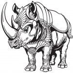 ������, ������: Rhino in the armor