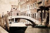 Konstverk i målningen stil, Venedig — Stockfoto
