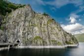 Vidraru lake, Romania — Stock Photo