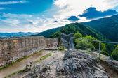 Poenari fortress, Romania — Stock Photo