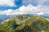 Capra Lake, Fagaras Mountaines, Romania — Stock Photo