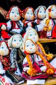 Handmade romanian dolls — Stockfoto