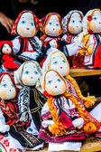 Handmade romanian dolls — Stock Photo