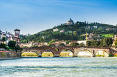 Sanctuary of the Madonna of Lourde, Verona, Italy — Stock Photo