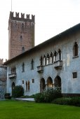 Castelvecchio in Verona, Northern Italy — Stock Photo