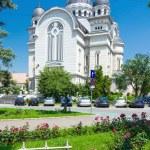 Ortodox church in Targu Mures — Stock Photo #54574663