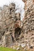 Ols city walls Istanbul — Stock Photo