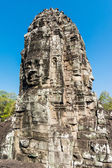 Giant Stone Faces at Bayon Temple — Stock Photo