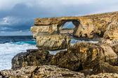 Azure window, Gozo, Malta — Stock Photo