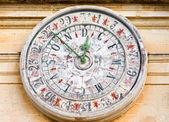 Antiguo reloj en Catedral del St Paul en Mdina, Malta. — Foto de Stock