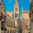 Maltese narrow street in Mdina — Stock Photo #64541401