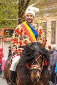 Junii Brasovului parade, Brasov — Stock Photo