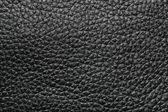 Black leather texture — Stock Photo