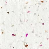 Handmade paper with colorful decorative elements — Stock Photo