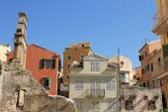 Architecture of Corfu, Greece — Stok fotoğraf