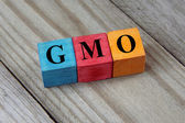 Concept of GMO — Stock Photo
