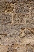 Staré kamenné zdi pozadí — Stock fotografie